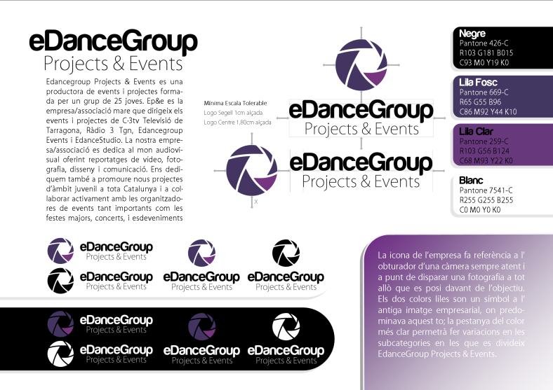 EdanceGroup - Manual d'Imatge Corporativa 02