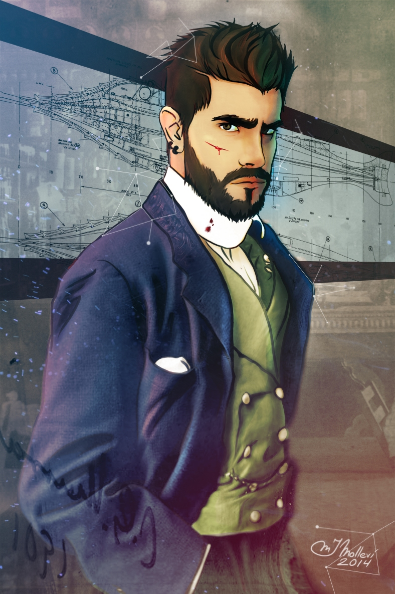 The Young Captain Nemo - Autorretrato