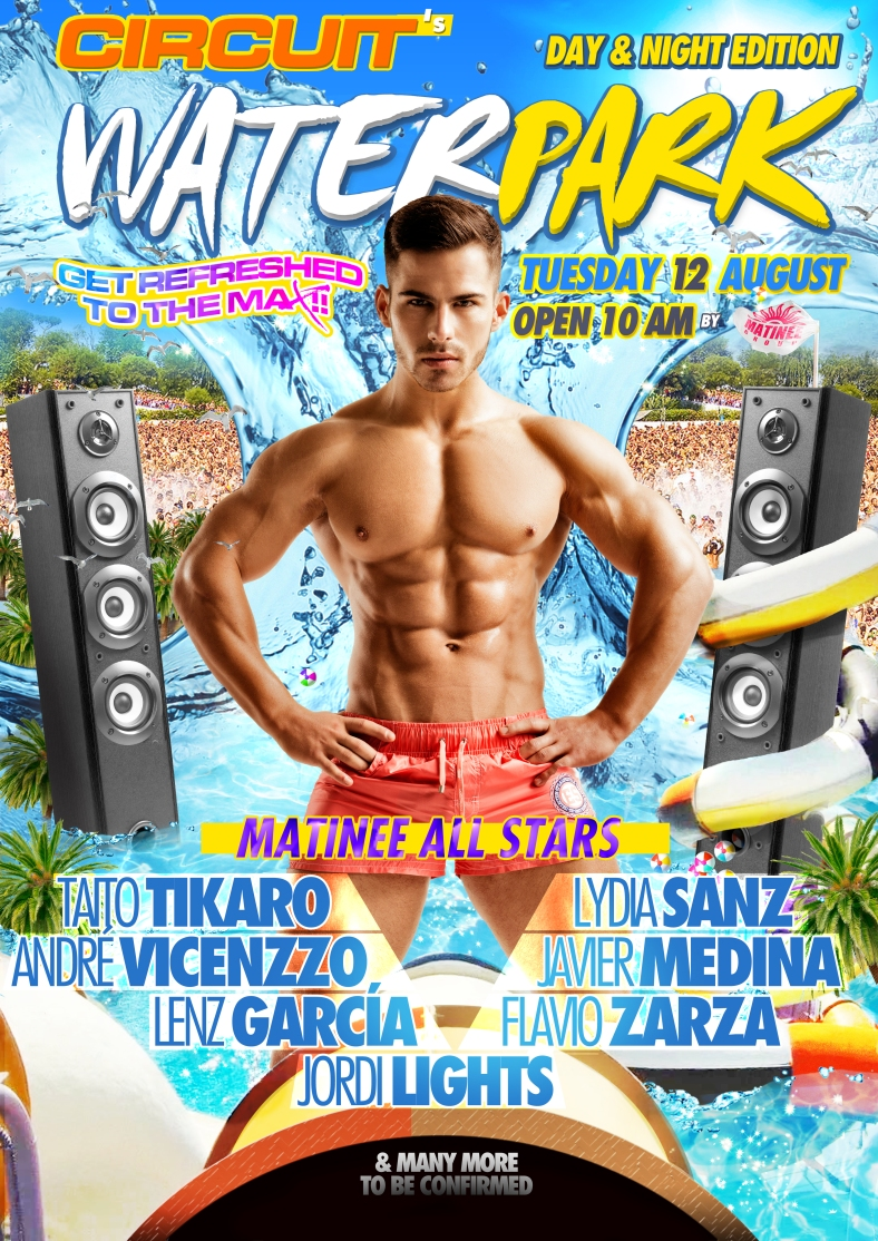 Waterpark Gay Day Circuit Molleví Diseñador Designer Girlie Party