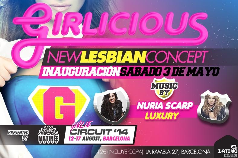 Facebook Inauguración Girlicious