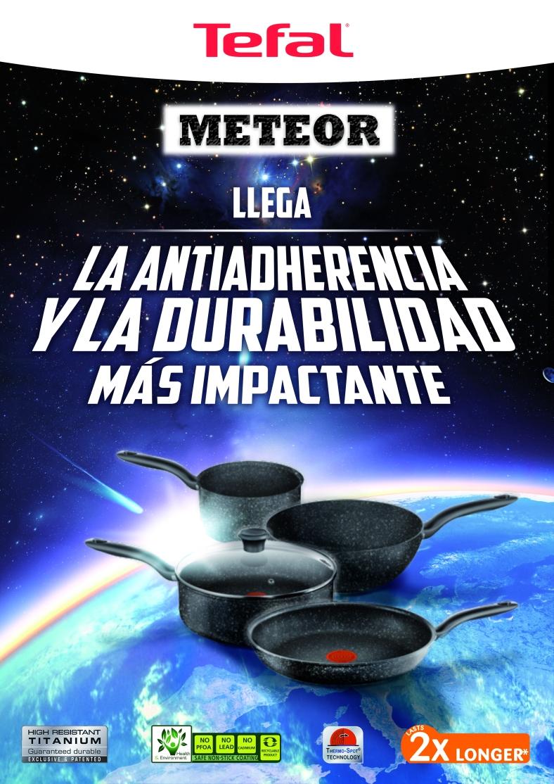 Tefal Meteor Espacio