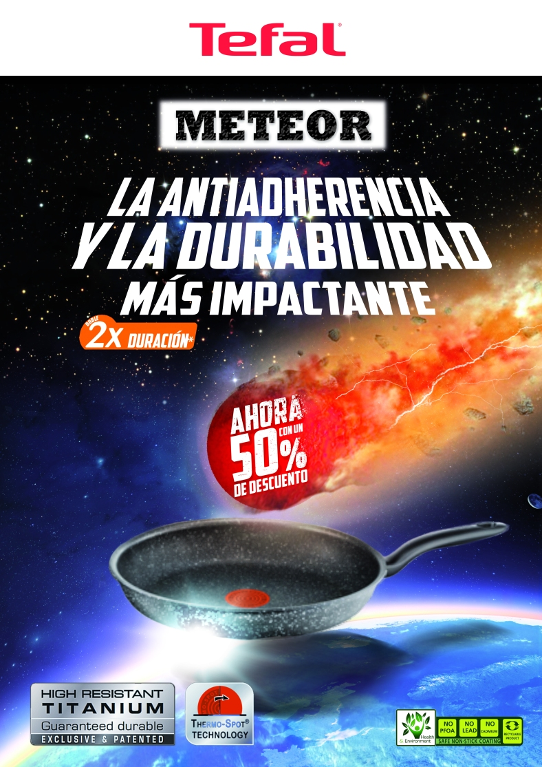 Tefal Meteor Sartén Descuento