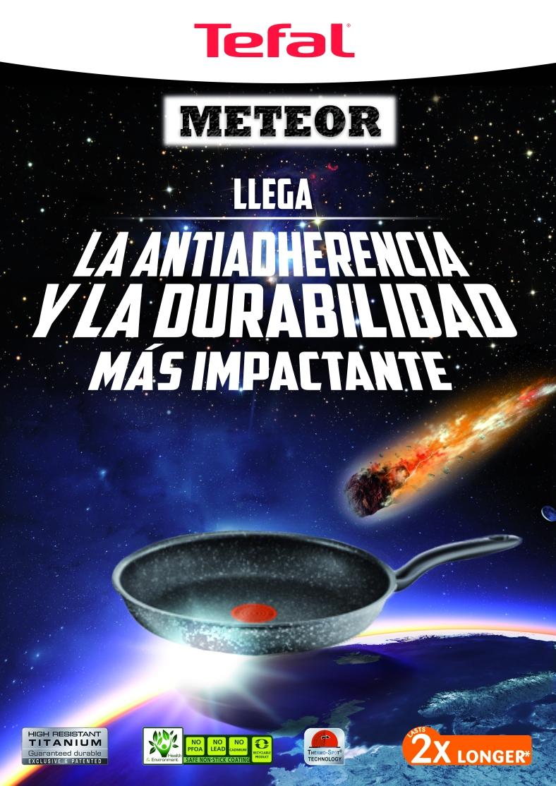 Tefal Meteor Sartén