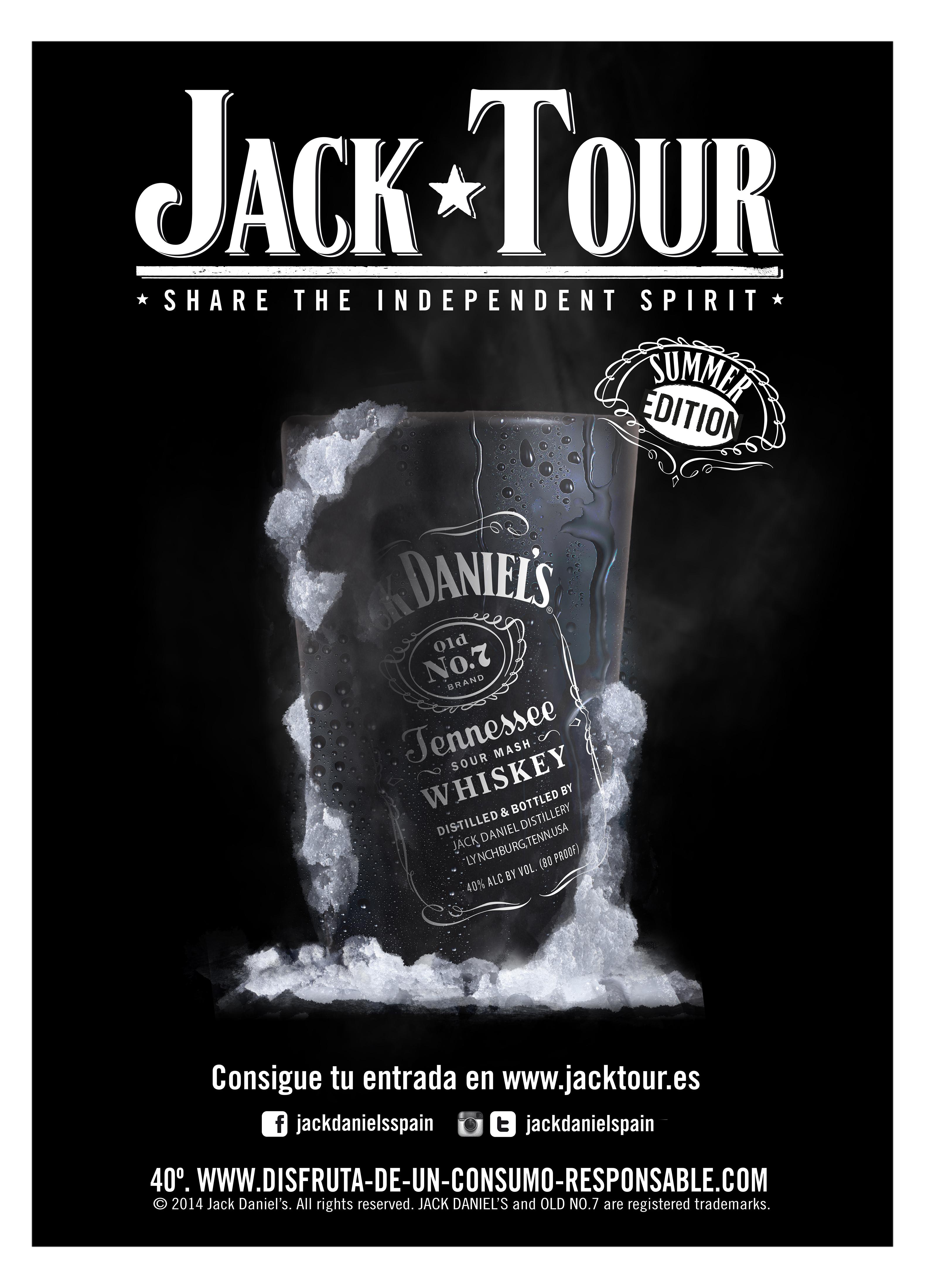 Jack Daniel\'s Graphic LIne | Juan Manuel Molleví