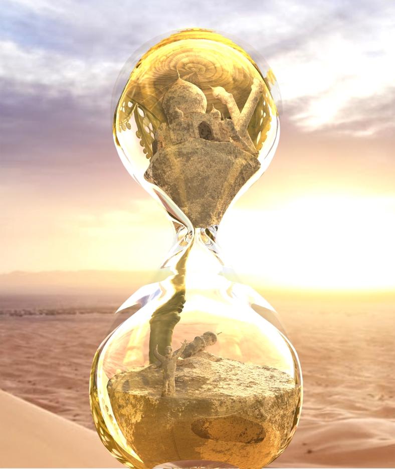 05 Render Reloj Cristal