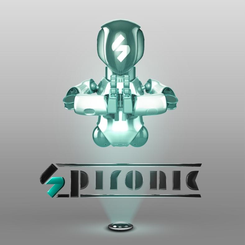 Robot Logo 4